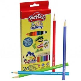 24 Crayons de couleurs ART anD ACTIVITY