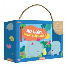 AU BAIN BEBE ELEPHANT !